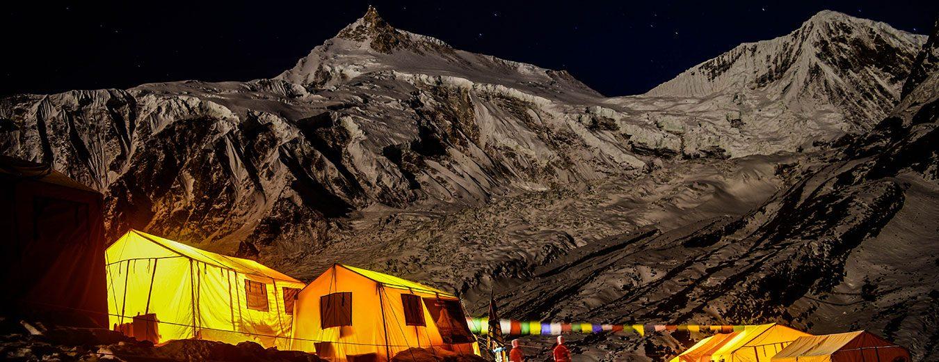 Manaslu Base Camp